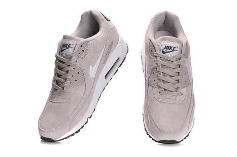 UK Nike Air Max 90 Essential Mens Suede Classic Stone Sail Dark Grey Cheap Online | Fashion world! | Scoop.it