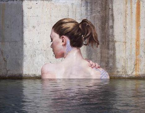 Sea Level – Le street art aquatique de Hula | Street-art Design Grafititi et Gros minet | Scoop.it