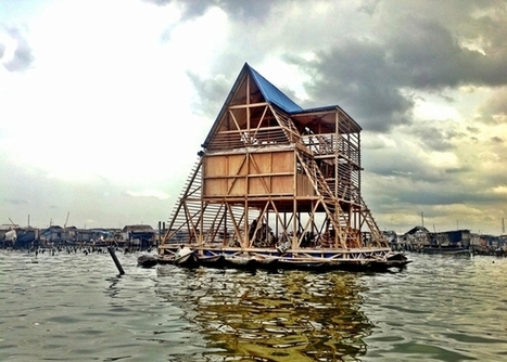 Resilient floating school provides reliable education in flood-prone African village | Images that Imprint and Please | Scoop.it