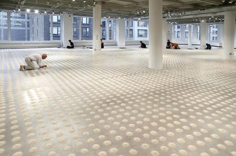 "Wolfgang Laib: ""Unlimited Ocean"" | Art Installations, Sculpture, Contemporary Art | Scoop.it"