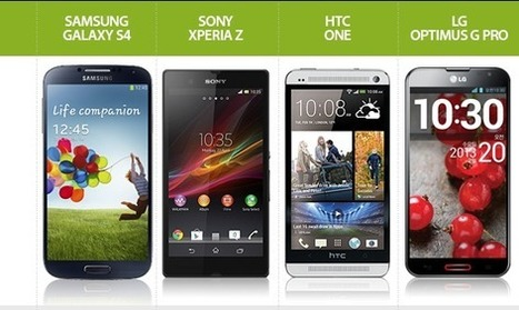 Samsung Galaxy S4 vs. Competidores Android - AndroidPIT | Mobile Technology | Scoop.it
