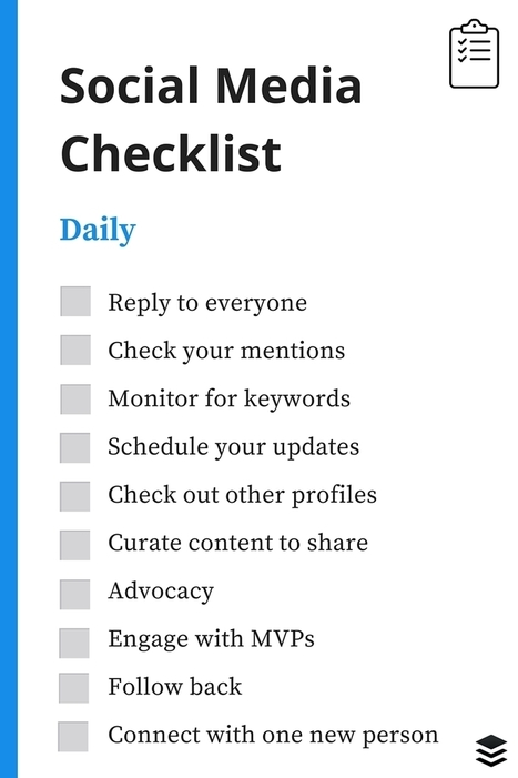 The Recruiter's Social Media Checklist (Infographic) | Career and Leadership | Scoop.it