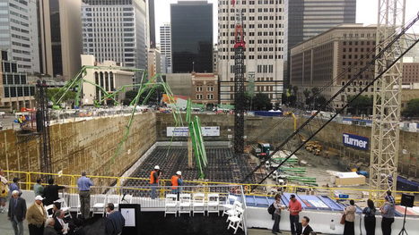 'Grand Pour' of Concrete Gets Underway at Construction Site in ... | Real Estate updates | Scoop.it