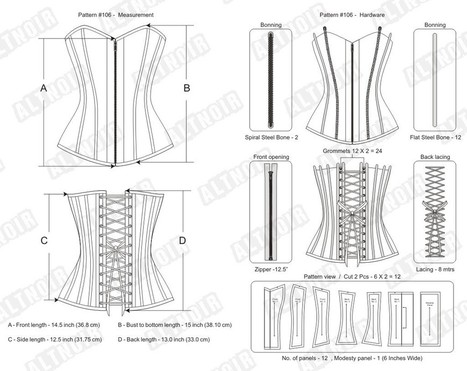 Overbust corset for plus size | Corsets | Scoop.it