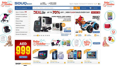 Souq.com, the Middle East's answer to Amazon, raises $75m | Media & Technology in the Middle East | Scoop.it