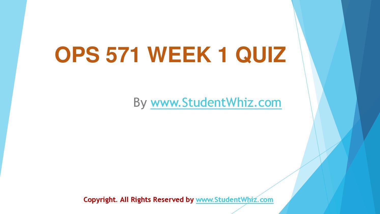 net204 week 1 quiz