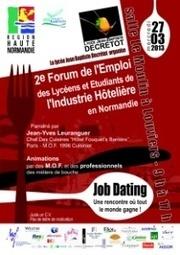 2e forum de l'emploi au lycée Jean Baptiste Decrétot de Louviers, le 27 mars 2013 | Dans la CASE & Alentours | Scoop.it