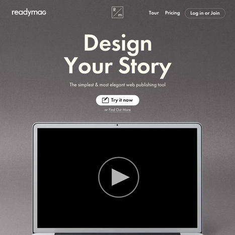 Readymag : Design Your Story | formation 2.0 | Scoop.it