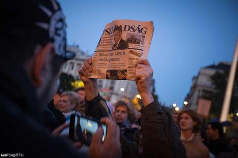 Hulala - Hongrie : des journalistes dénoncent un «putsch» à Népszabadság | Journalism Issues | Scoop.it
