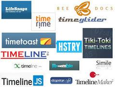 Las TIC y su utilización en la educación : 21 Herramientas Para Crear Líneas De Tiempo | Utilidades TIC para el aula | Scoop.it