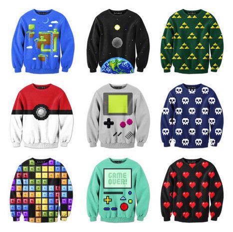 Pixelated Sweatshirts | All Geeks | Scoop.it