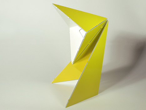 folded origami table lamp by mirco kirsch for belt + sund | Building spaces | Scoop.it