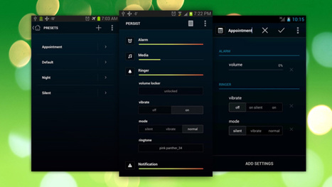 Persist for Android Offers Total Control Over Your Volume Settings | Dev Bhoomi Himachal Pradesh | Scoop.it
