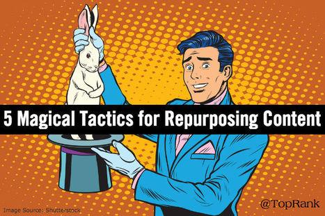 5 Magical Tactics for Repurposing B2B Marketing Content | Web Content | Scoop.it