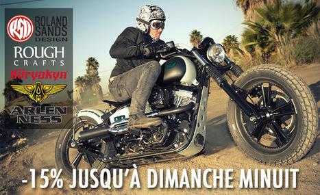 Kustom Store Motorcycles: PROMO HEBDO -15% sur Küryakyn, Arlen Ness, RSD (Roland Sands Design), Rough Crafts ! | Kustom Store Motorcycles | Scoop.it