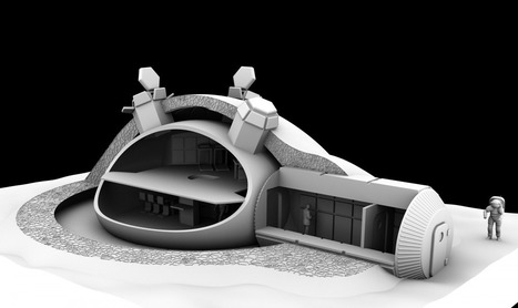 Starchitect Norman Foster To Design A 3-D Printed Lunar Base | D-Shape Topics | Scoop.it