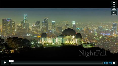 'Nightfall': Los Angeles in Time-Lapse | Où voyager ? | Scoop.it