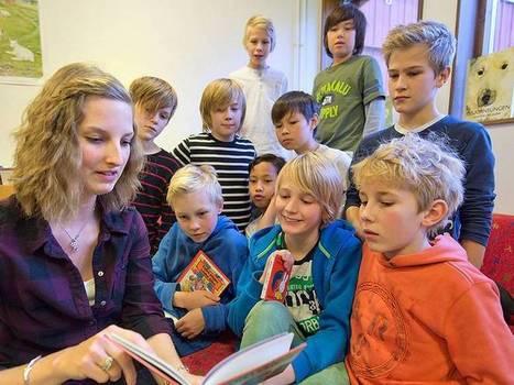 Så fick hon killarna att börja läsa | Skolbiblioteket och lärande | Scoop.it