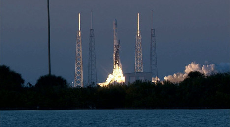 Falcon 9 Launches DSCOVR on Third Attempt - SpaceNews.com | Space In Cyberspace | Scoop.it