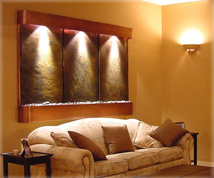Exalted Fountains | Automatically filling A Wall Fountain | The Beauty Of Indoor Wall Fountains | Scoop.it
