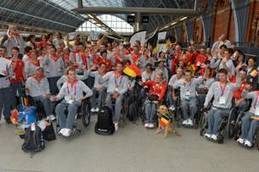 OXFORDPROSPECT - FRENCH AND BELGIAN PARALYMPIC ATHLETES BID ADIEU TO LONDON 2012 | Nicholas Newman | Scoop.it