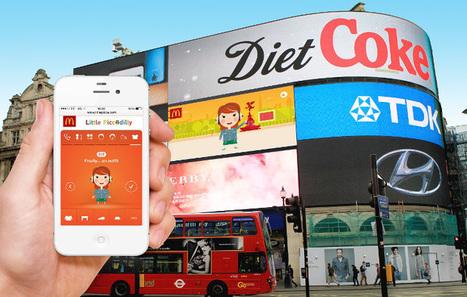 [Focus] McDo joue avec des avatars sur Picadilly Circus | Actu com' | Scoop.it