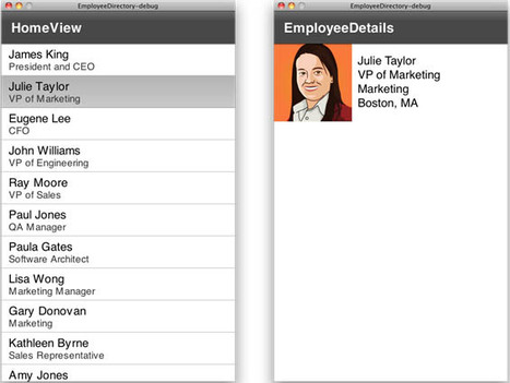 Building a mobile employee directory sample | Adobe Developer Connection | Everything about Flash | Scoop.it