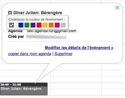 Donnez des couleurs à votre Google Agenda !   Time to Learn   Scoop.it