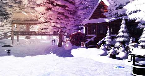 Let it snow! | RAYNE MORGAN - | Enchanted Sims | Scoop.it