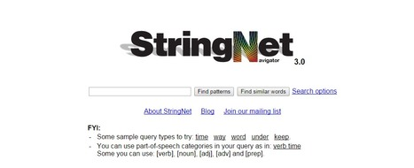 StringNet Navigator | Tools for Classroom or Personal Use | Scoop.it