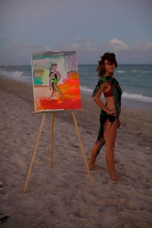 Bas Fisher Visiting Artist Tyson Reeder Paints On the Beach, Wants You to Join Him - Miami - Arts - Cultist | READ WHAT I READ | Scoop.it