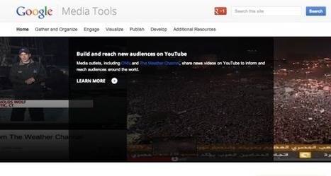 Google Media Tools: A new hub for journalists | Business in a Social Media World | Scoop.it