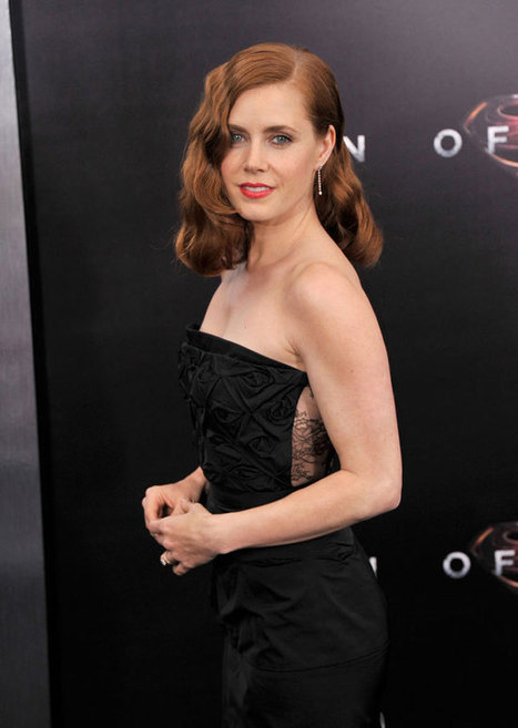 """Amy Adams Dons Nina Ricci at the """"Man of Steel"""" New York Premiere 