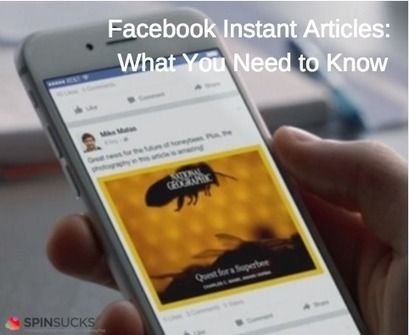 Facebook Instant Articles: Why Should I Care? | The Eternal Social Season | Scoop.it
