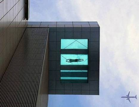 The Amazing 24th Floor Swimming Pool | Art and Architecture | Scoop.it