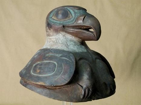 Un casque de guerre amérindien rarissime découvert dans un musée américain | Les découvertes archéologiques | D.5.8 djilali mekhzoum | Scoop.it