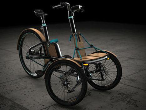 Il imagine un concept de véhicule futuriste et finit avec un tricycle électrique | Aw3some Pr0ducts | Scoop.it