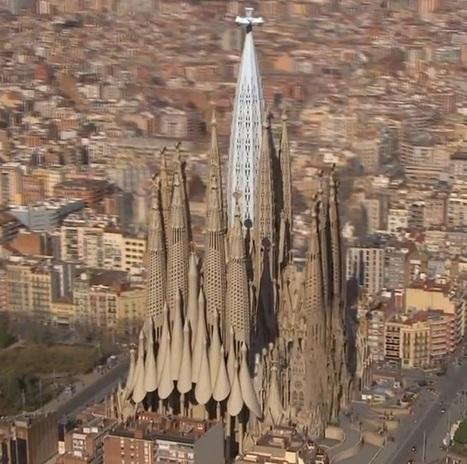 Futuristic Video Shows Us What's Spain's Sagrada Familia Will Look Like in 2026 | Tout sur le Tourisme | Scoop.it