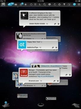 TweetyPop: An Intuitive, Beautiful Twitter Client For The iPad | Tablets in de klas | Scoop.it