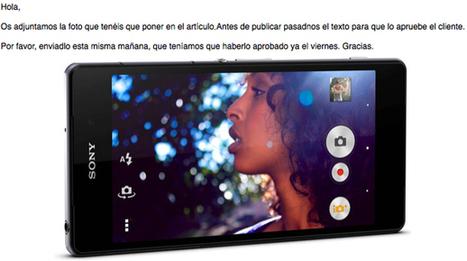 Sony revoluciona el mercado con un nuevo móvil que me regalan por escribir bien sobre él | Temas varios de Edu | Scoop.it