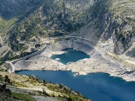 Cap-de-Long au plus bas permet d'apercevoir l'ancien lac de l'Oustalat | JD Dargenton | Vallée d'Aure - Pyrénées | Scoop.it