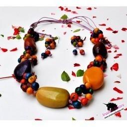 Didi Necklace Set - Ariadnas Fantasy | Natural Organic Jewelry | Scoop.it