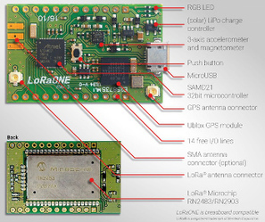 Arduino compatible IoT board offers LoRa wireless | Open Source Hardware News | Scoop.it