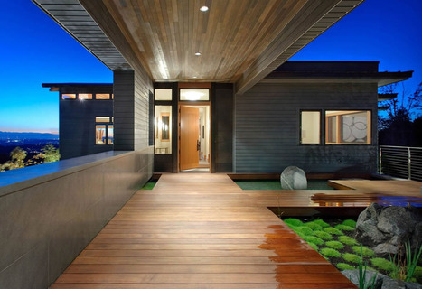 Beautiful Houses: Harrison Street Residence | sustainable architecture | Scoop.it