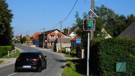 Deux nouveaux radars installés à Saint-Martin-Choquel... mais pédagogiques | Radar Pédagogique | Scoop.it