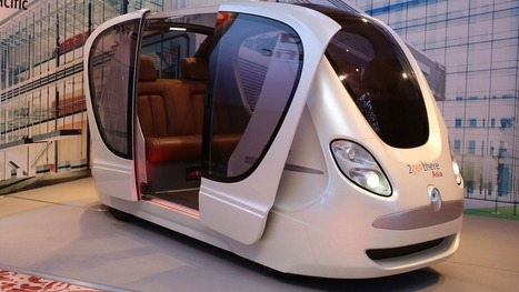These futuristic driverless pods will run on Singapore's roads by end of the year | ♡ James & Mary ♡ | Scoop.it