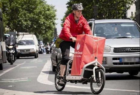 La mode du vélo-cargo gagne du terrain | triporteur | Scoop.it