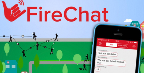 FireChat: chat over Bluetooth and Wifi phone radios - Heliade.net | mobile warrior | Scoop.it