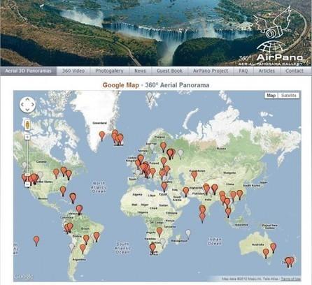 Visites touristiques à 360 degrés, AirPano | E LEARNING | Scoop.it