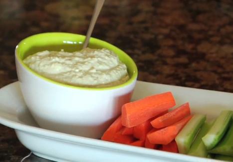 Zucchini Hummus | recipe | Scoop.it
